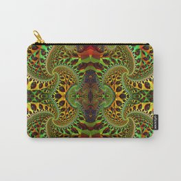 Psychedelic Fractal Geometry - different perspective Carry-All Pouch