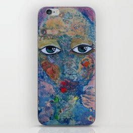 Dreaming about the sea iPhone Skin