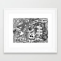 boxing Framed Art Prints featuring Boxing by JessicArt