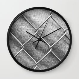 Relax and Breathe V Wall Clock