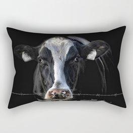 sad Lisa Rectangular Pillow