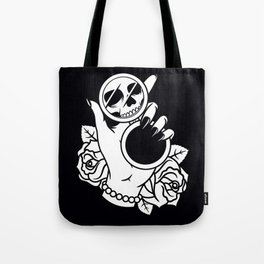 Dead on The Inside Tote Bag