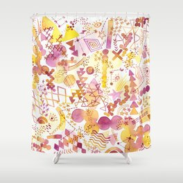 Freedom Colors Shower Curtain