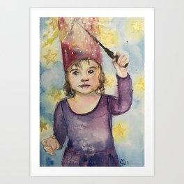 Wizarding Art Print