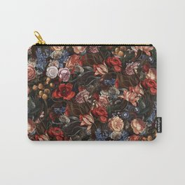 Vintage Summer Floral Carry-All Pouch