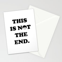 THIS IS NOT THE END. (ONE DIRECTION) Stationery Cards