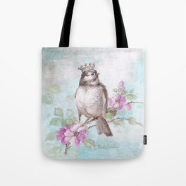French Crown and Feather II Tote Bag