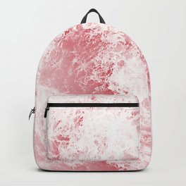 pink ocean Backpack