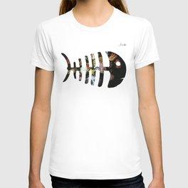 Fish Colors Fashion Paris Jacob's 1968 Design T-shirt