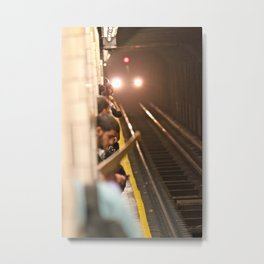 Subway Stories (Pt 1 - New York City) Metal Print