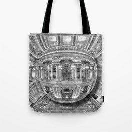 Ode To MC Escher Library of Congress Orb Tote Bag