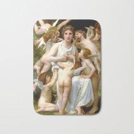 """William-Adolphe Bouguereau """"The Assault"""" Bath Mat"""