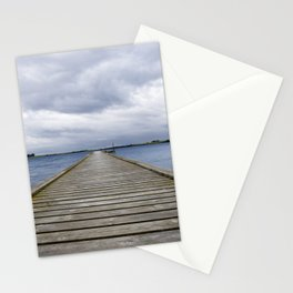 Middelfart, Denmark, pier by the water Stationery Cards