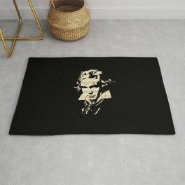Beethoven - German Composer Rug