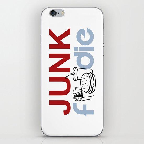 I HEART Junk Food iPhone Skin