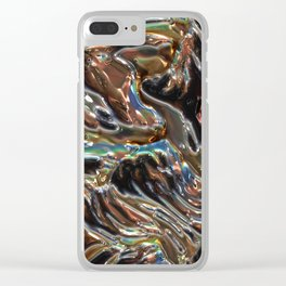 Iridescent Copper Clear iPhone Case