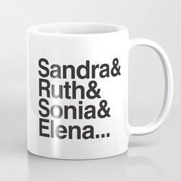 RBG & the Women of SCOTUS Coffee Mug