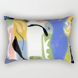 Ode to Matisse Rectangular Pillow