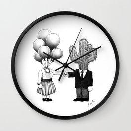 Soul Mates (2013) Wall Clock