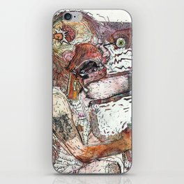 Knock Out iPhone Skin