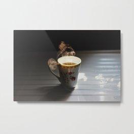 warm tea Metal Print