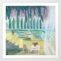 Sea relax Art Print