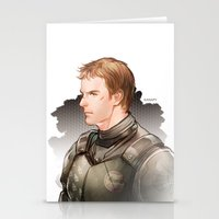 chuck Stationery Cards featuring Chuck Hansen by Drag Me To Work