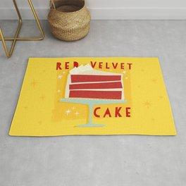 All American Classic Red Velvet Cake Rug