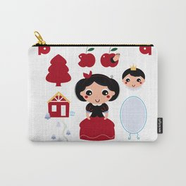 Beautiful and adorable snow white set Carry-All Pouch