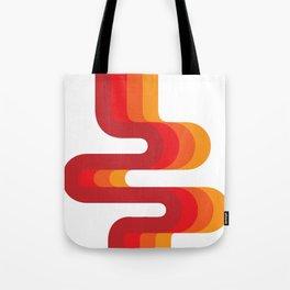 Retro Flow Tote Bag