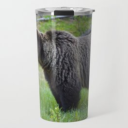 Grizzly bear in the Canadian Rockies Travel Mug