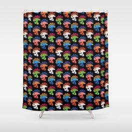 Murloc Swarm Shower Curtain