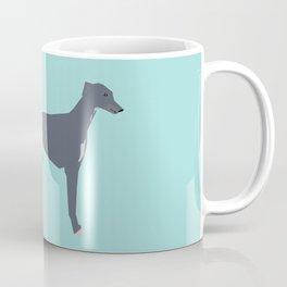 Greyhound farting dog cute funny dog gifts pure breed dogs Coffee Mug