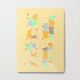 Indoor Constellation  Metal Print