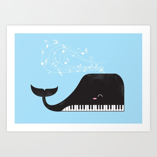 the Pianist Art Print