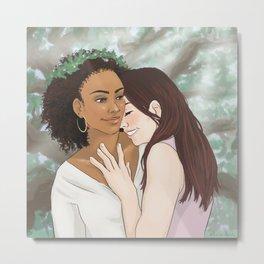 pack girlfriends (marin morrell/laura hale) Metal Print