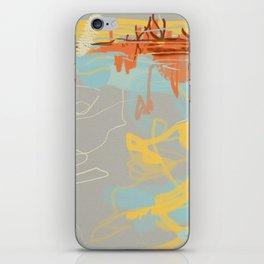 Runoff Patterns iPhone Skin