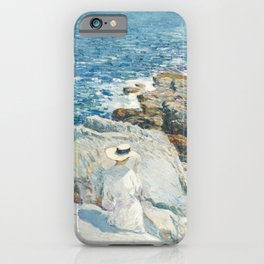 The South Ledges, Appledore by Childe Hassam iPhone Case