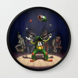 A Hard Act to Follow Wall Clock