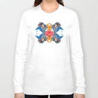kaleidoscope Long Sleeve T-shirts featuring kaleidoscope by Raphaël
