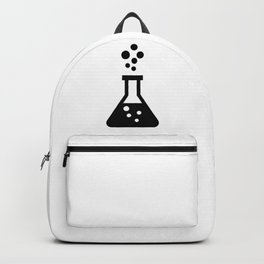 Bubbling Vial Glass Backpack