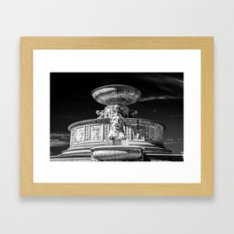 Detroit's Roar Framed Art Print