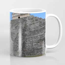 Chichen Itza Temple of Kukulcan south-west View Coffee Mug