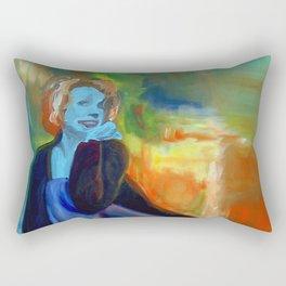 The Portrait of Yutta Rectangular Pillow