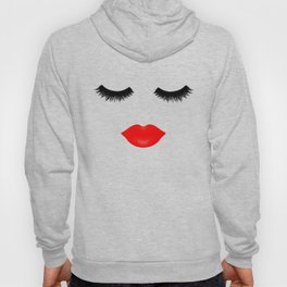Lips and Lashes Hoody