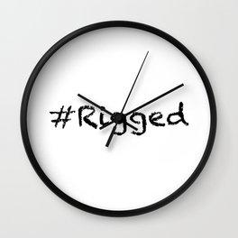 #Rigged Wall Clock