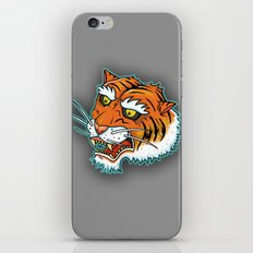 Bengal Tiger Angry iPhone & iPod Skin