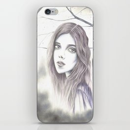 haunted  iPhone Skin