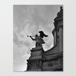 Trumpeting Angel Canvas Print
