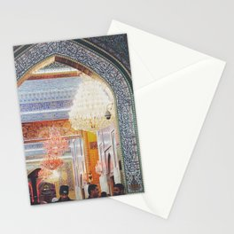 Turquoise Arch Stationery Cards